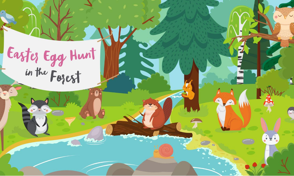 Interactive Easter Egg Hunt Game