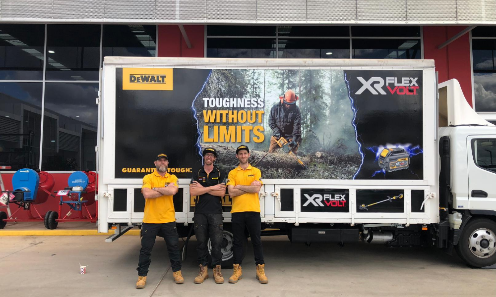 DeWalt Roadshow – Pop-up Brand Activation Campaign